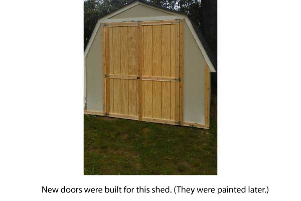 sheddoors